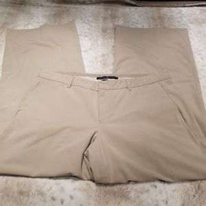 GAP Tan Stretch Wide Leg Trouser